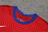 Tottenham Hotspur Goalkeeper Red Long Sleeve Jersey + Shorts Set Mens 2020/21