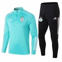 Mens Algeria Training Suit Green 2020/21