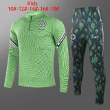 Kids Nigeria Training Suit Green 2020/21