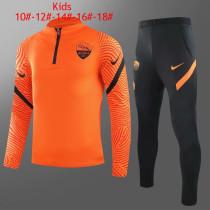 Kids Roma Training Suit Orange 2020/21