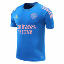 Mens Arsenal Short Training Jersey Blue 2020/21
