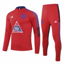 Mens Bayern Munich Training Suit Human Race Red 2020/21