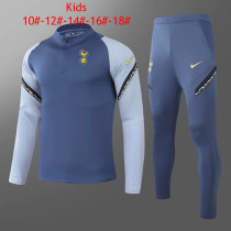 Kids Tottenham Hotspur Training Suit Blue 2020/21