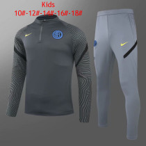 Kids Inter Milan Training Suit Deep Grey 2020/21
