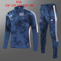 Kids Arsenal Training Suit Deep Blue 2020/21