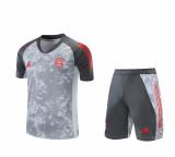 Mens Bayern Munich Short Training Suit Grey 2020/21