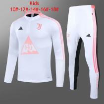 Kids Juventus x Human Race Training Suit White 2020/21