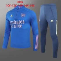Kids Arsenal Training Suit Blue 2020/21