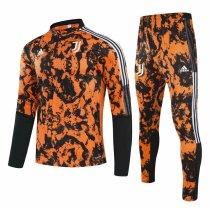 Mens Juventus Training Suit Orange 2020/21