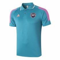 Mens Arsenal Polo Shirt Green 2020/21