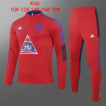 Kids Bayern Munich x Human Race Training Suit Red 2020/21