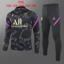 Kids PSG Training Suit Black 2020/21