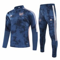 Mens Arsenal Training Suit Deep Blue 2020/21