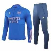 Mens Arsenal Training Suit Blue 2020/21