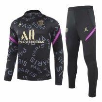 Mens PSG x Jordan Training Suit Black 2020/21