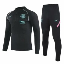 Mens Barcelona Training Suit Black II 2020/21