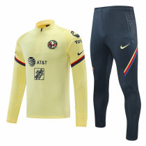 Mens Club America Training Suit Yellow 2020/21