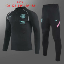 Kids Barcelona Training Suit Black III 2020/21