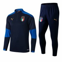 Mens Italy Training Suit Navy 2020/21