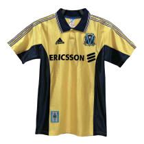 Mens Olympique Marseille Retro Away Jersey 1998/1999