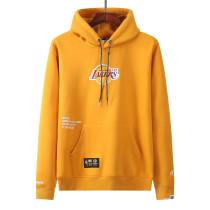 Mens Los Angels Lakers x Aape Pullover Hoodie Sweatshirt Yellow 2021/22