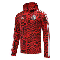 Mens Manchester United All Weather Windrunner Jacket Red 2020/21