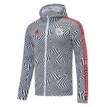 Mens Ajax All Weather Windrunner Jacket White 2020/21