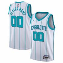 Mens Charlotte Hornets 2020 NBA Draft First Round Pick Jordan White Swingman Jersey - Icon Edition