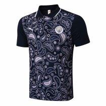 Mens Manchester City Polo Shirt Navy 2020/21