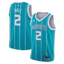 Mens Charlotte Hornets 2020 NBA Draft First Round Pick Jordan Teal Swingman Jersey - Icon Edition