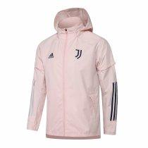 Mens Juventus All Weather Windrunner Jacket Pink 2020/21