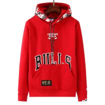 Mens Chicago Bulls x Aape Pullover Hoodie Sweatshirt Red 2021/22