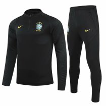 Mens Brazil Training Suit Black 2021/22
