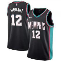 Mens Memphis Grizzlies Nike Black Retro Swingman Jersey
