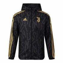 Mens Juventus All Weather Windrunner Jacket Black 2021/22