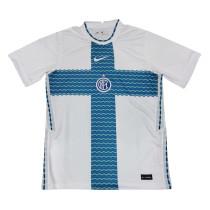 Mens Inter Milan Short Training Jersey White 2021/22