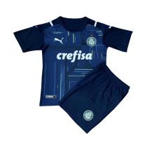 Kids Palmeiras Goalkeepr Navy Jersey 2021/22