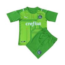 Kids Palmeiras Goalkeepr Green Jersey 2021/22