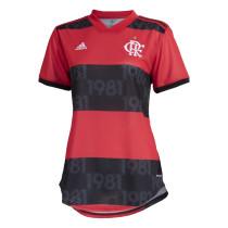 Womens Flamengo Home Jersey 2021/22
