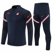 Mens Croatia Training Suit Black 2021/22
