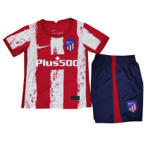 Kids Atletico Madrid Home Jersey 2021/22