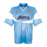 Mens Napoli Retro Home Jersey 1990/91