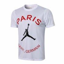 Mens PSG x Jordan T-Shirt White 2021/22