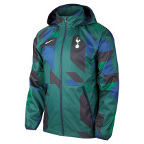 Mens Tottenham Hotspur All Weather Windrunner Jacket Green 2021/22