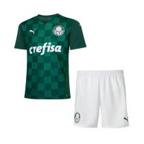 Kids Palmeiras Home Jersey 2021/22