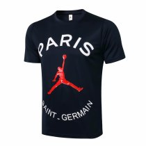 Mens PSG x Jordan T-Shirt Navy 2021/22