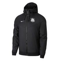 Mens Corinthians All Weather Windrunner Jacket Black 2021/22