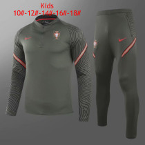 Kids Portugal Training Suit Deep Green 2020/21