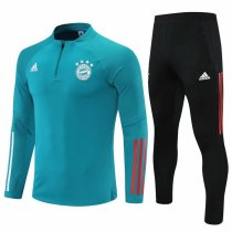 Mens Bayern Munich Training Suit Green 2021/22
