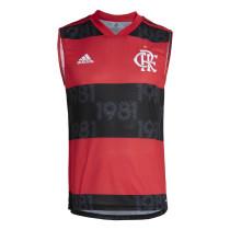 Mens Flamengo Home Singlet 2021/22